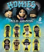 Homies Big Heads Collect Them All Figures - 50mm x 56mm Capsule