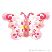 Butterfly Pink Wristband Inflatable Fancy Dress Toy (25cm)