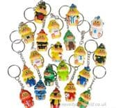 Collectable Duck Novelty Keyrings (3.5cm)
