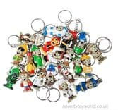 Collectable Monkey Novelty Keyrings (3.5cm)