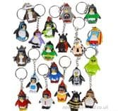 Collectable Penguin Novelty Keyrings (3.5cm)