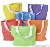 Coloured Tote Bags - Wholesale Event Supplies (20cm)