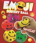 Emoji Squish & Squeeze Ball Mix - Large 70mm Vending Capsule