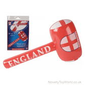 England St George's Flag Inflatable Mallet Toy (71cm)