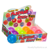 Flashing Spiky Ball with Light 7.5cm - Cool Kids Toys