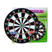 Full Size Professional Dartboard with Darts - Pub Games