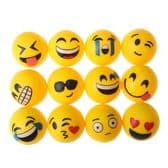 Funny Face Emoji High Bounce Bouncy Balls (3.3cm)