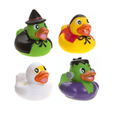 Halloween Character Novelty Rubber Ducks (5cm)