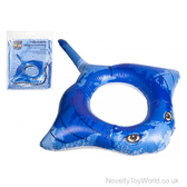 Inflatable Stingray Swimming Ring (120cm)