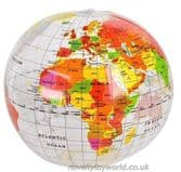 Inflatable World Globe (40cm)