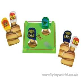 Wholesale   Kid's Game Thumb Wrestling Set with Ring - Various Masks