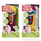 Microphone Toy with Sound for Toddlers - Ages 18 Months+