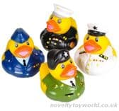 Military Armed Forces Novelty Rubber Ducks Collection (5cm)