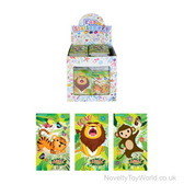 Mini Jungle Animal Notepad (9.3cm x 5.5cm)