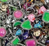 Novelty Ring Wholesale Assortment - Various Designs