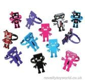 Novelty Robot Rings for Kids - Various Cool Designs