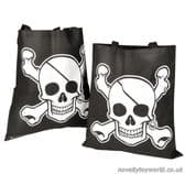 Pirate Skull & Crossbones Tote Bag - Bulk Bags