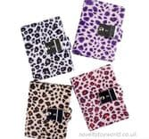 Safari Animal Print Diary With Lock (9cm x 12cm)