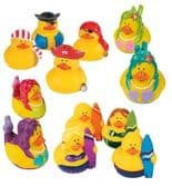 Sea Themed Rubber Duck Characters Assortment (5cm)