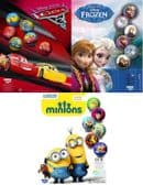 Self Vending Licensed Play Balls - Frozen, Cars, Minions - 65mm