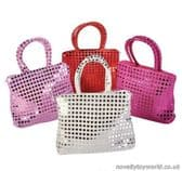 Small Sequined Pretty Bag - Bulk Buy Accessories (17cm)