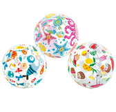 Summer Fun Design Intex Beach Balls (50cm)
