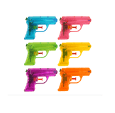 Toy Plastic Water Guns - 6 Assorted - Summer Fun (11cm)