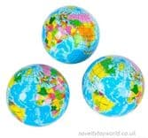 World Globe Stress Ball (7cm)