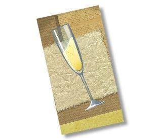 DL Silk 350gsm Greeting Cards with Envelopes