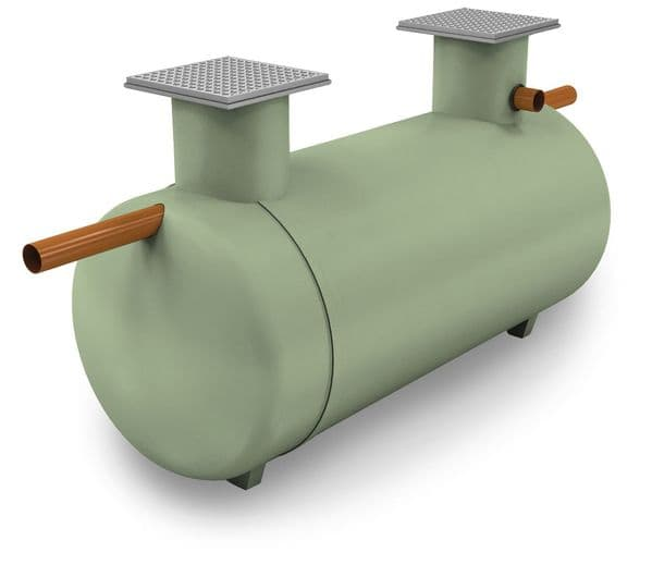 Shallow Dig Septic Tank 2800 Litre 5 Person