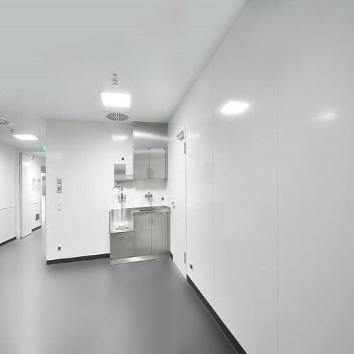 White Hygienic PVC Panels & Trims
