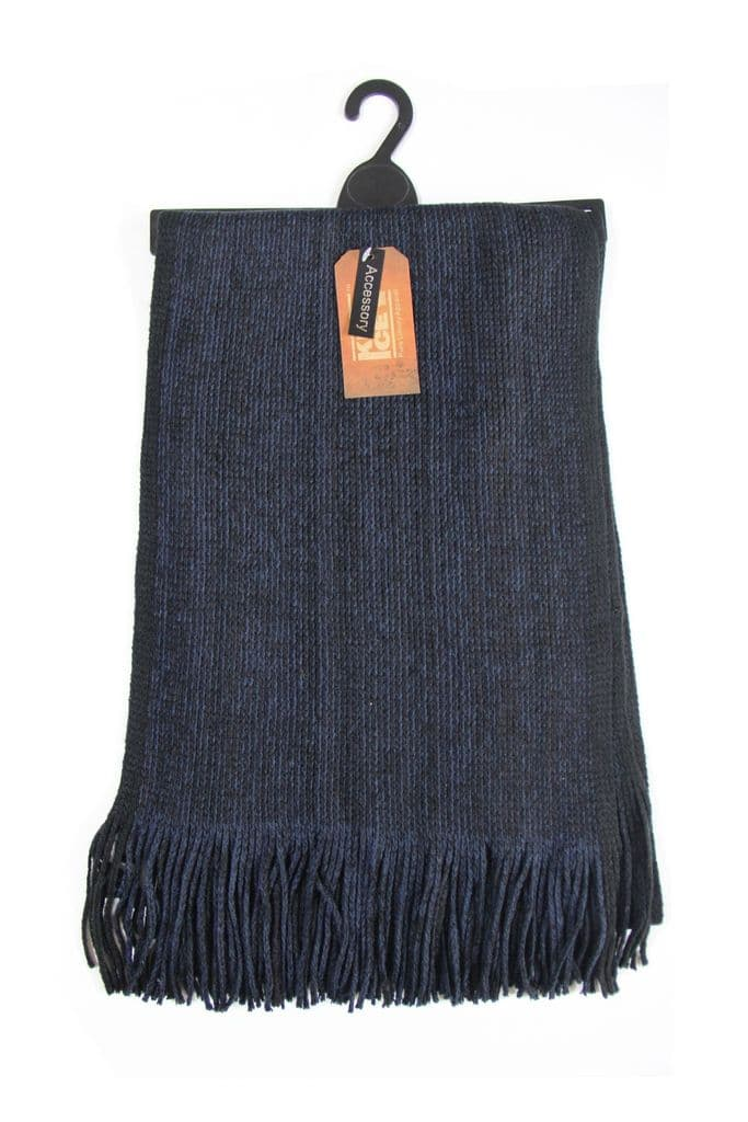6574S8 Mens knitted scarf winter scarf (2)