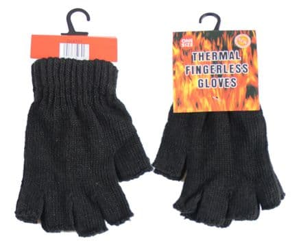 A27-GL6101 Unisex Fingerless Thermal Magic Gloves GL6101