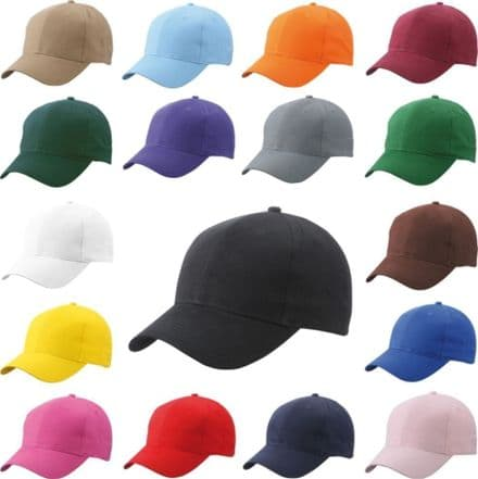 Classic Plain Adjustable Baseball printing cap