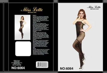 Full body fishnet tight for ladies black free size