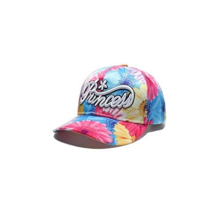 Kids Baseball Floral princess Cap