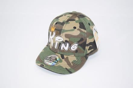 KING Kids Baseball cap made of 100% Polyester, one size fits all adjustable