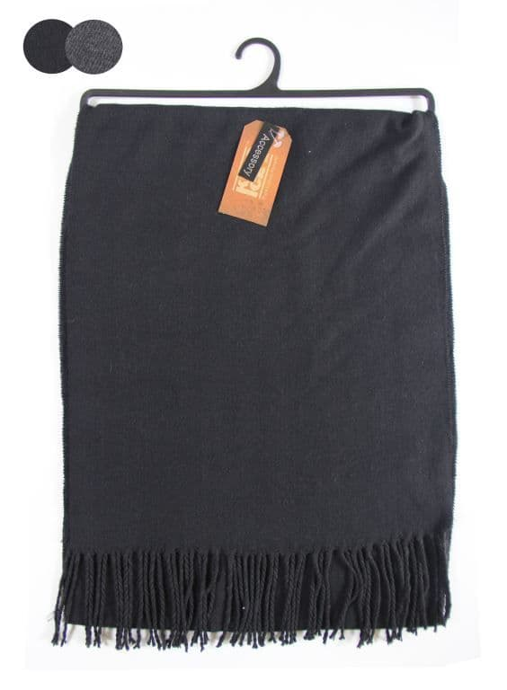 Men Assorted Plain knitted Scarf  SCR563491