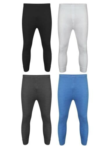 Men thermal Long johns bottoms