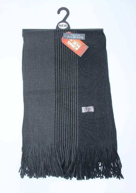 Mens knitted scarf winter scarf (HT13-SCR566009)
