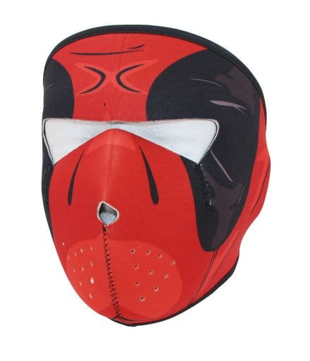 MK590 One size red full face mask