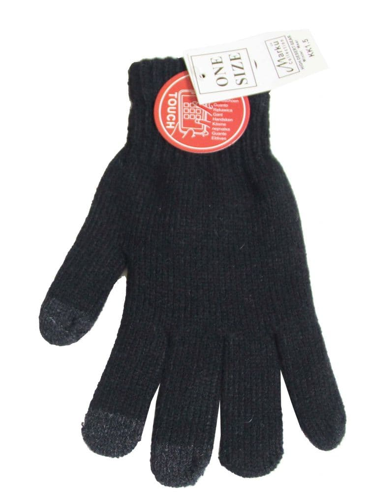 S104-6534G3  Touch screen iphon ipad magic one size fits all gloves