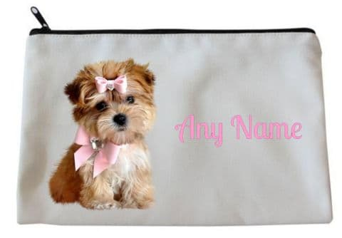 Dog Pencil Case/Make Up Bag