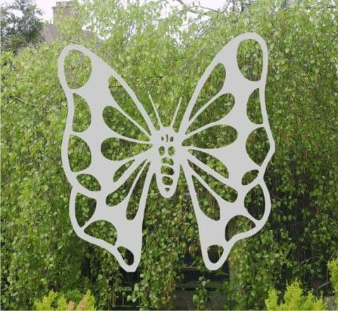 Etched Glass Effect Butterfly sticker