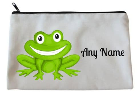 Frog Pencil Case/Make Up Bag