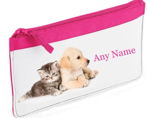 Kitten & Puppy Pencil Case 2