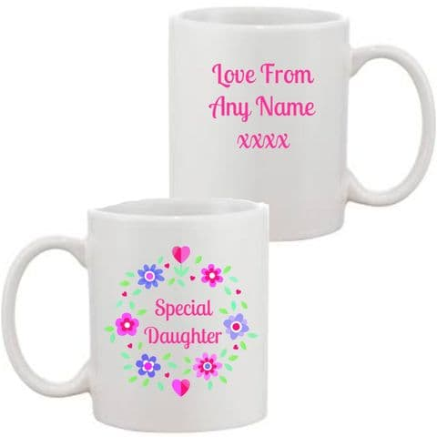 Special Daughter Mug/Coaster