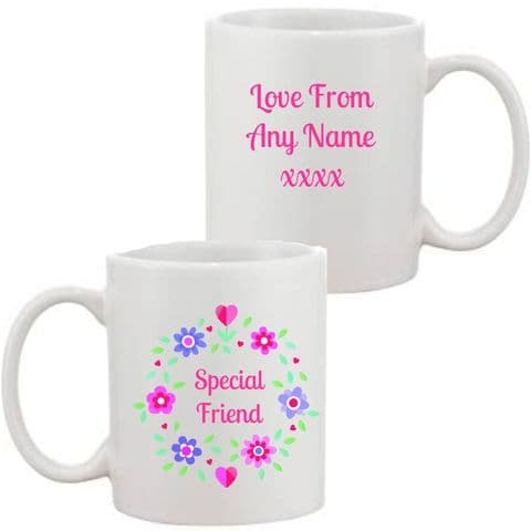 Special Friend Mug/Coaster