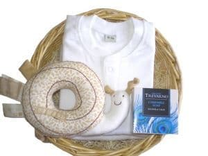 Daffodil Baby Gift Basket by Mulberry Organics