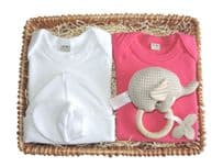 Little Miss Muffet Girl Baby Gift Basket